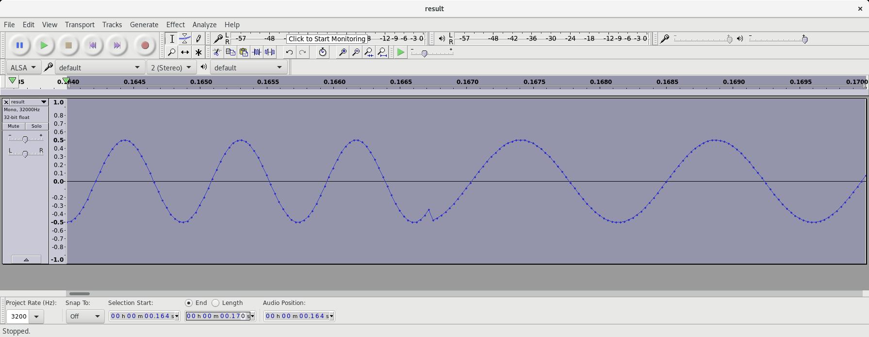 Simple PI4 Beacon Transmitter in GNU Radio